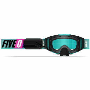 509 Sinister X6 Ignite Goggle 2021 Goggles 509 Teal Aura Clear Tint (21)