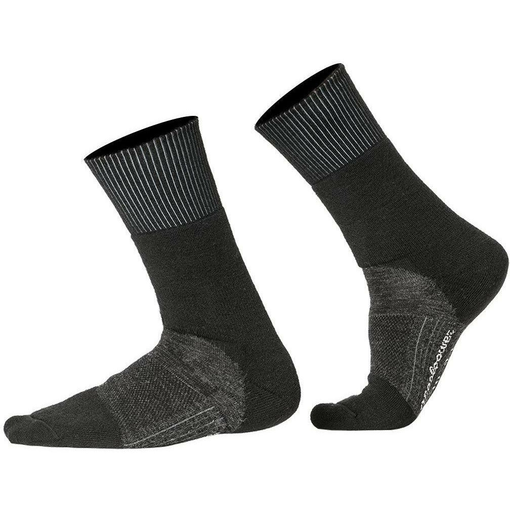 TOBE Socks Skilled Classic 400 21 TOBE 2021 Black/Dark Grey US 4-6
