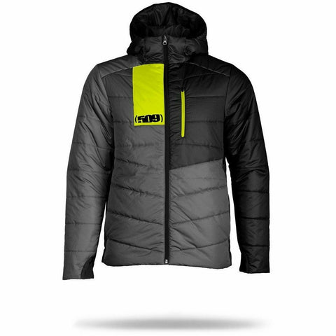 509 Syn Loft Insulated Hooded Jacket Jacket 509 2019 Grey/Hi-Vis Small