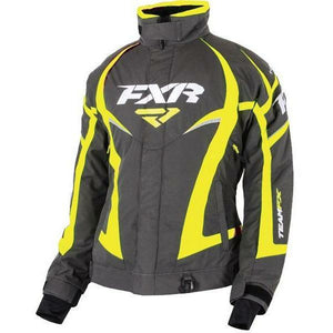 FXR Team Women's Jacket | Clearance Jacket FXR Charcoal/Hi-Viz 8