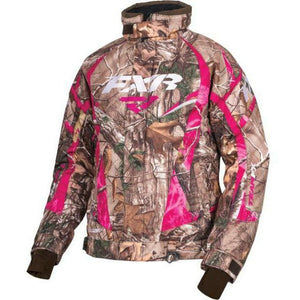 FXR Team Women's Jacket | Clearance Jacket FXR Realtree Xtra/AP Fuchsia 4