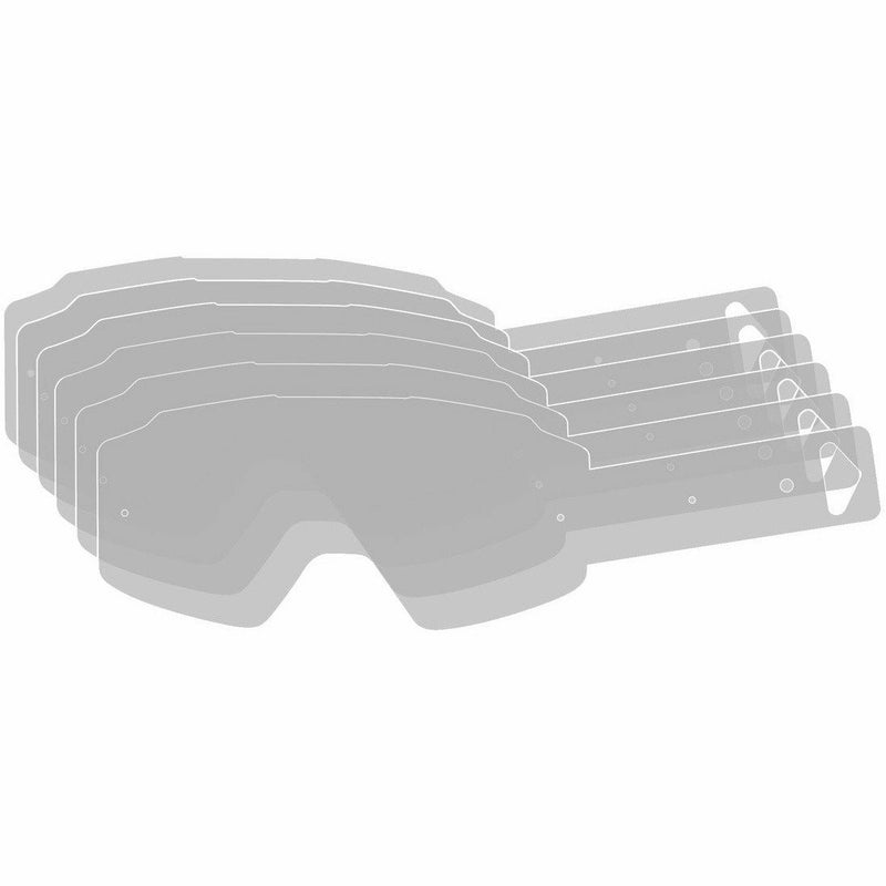 509 Tear Off Refills for Sinister X6 Lenses 2020 Accessories 509 Clear 24 Pack