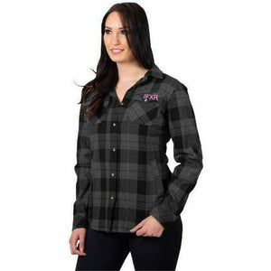 FXR Timber Plaid Women's Shirt 2020 Casual FXR Black/Grey XS