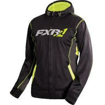 FXR Trainer Tech Men's Hoodie | Clearance Hoodie FXR Black/HiVis Medium
