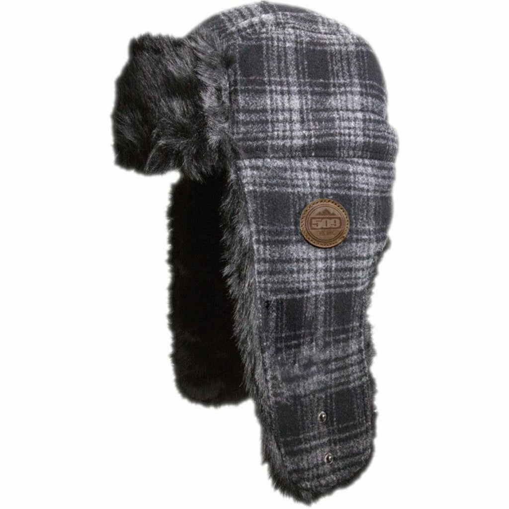 509 Trapper Fur Hat Beanie 509 Black
