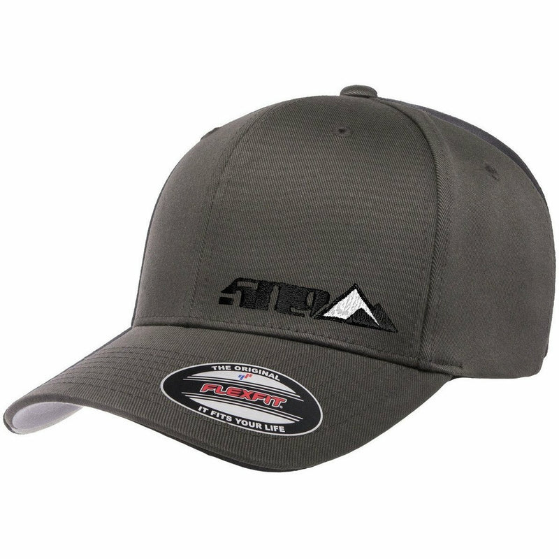 509 Tri-Peak Flex Fit Hat 2020 Hat 509 Gray SM/MD