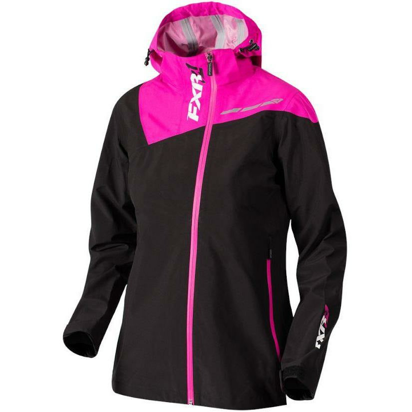 FXR Vertical Edge Tri-Lam Womens Jacket | Clearance Jacket FXR Black/Fuchsia 10