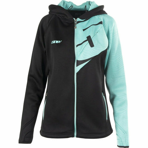 509 Tech Zip Women's Hoodie Hoodie 509 2020 Teal SM