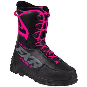 FXR X-Cross Pro Speed Boot 2020 Footwear FXR Black/Fuchsia 4/6/36