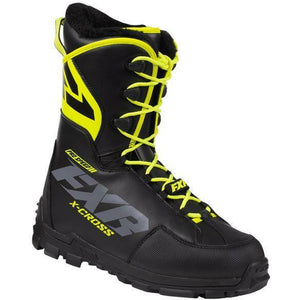 FXR X-Cross Pro Speed Boot 2020 Footwear FXR Black/Hi Vis 4/6/36