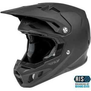 Fly Racing Youth Formula CC Solid Helmet 21 Helmet Fly Racing MATTE BLACK YL