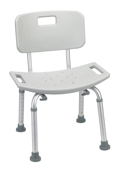St. Charles Bathroom Safety Shower Tub Bench Chair With Back