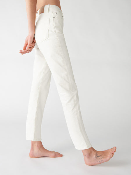 CLASSIC 5-POCKET JEANS - NATURAL WHITE