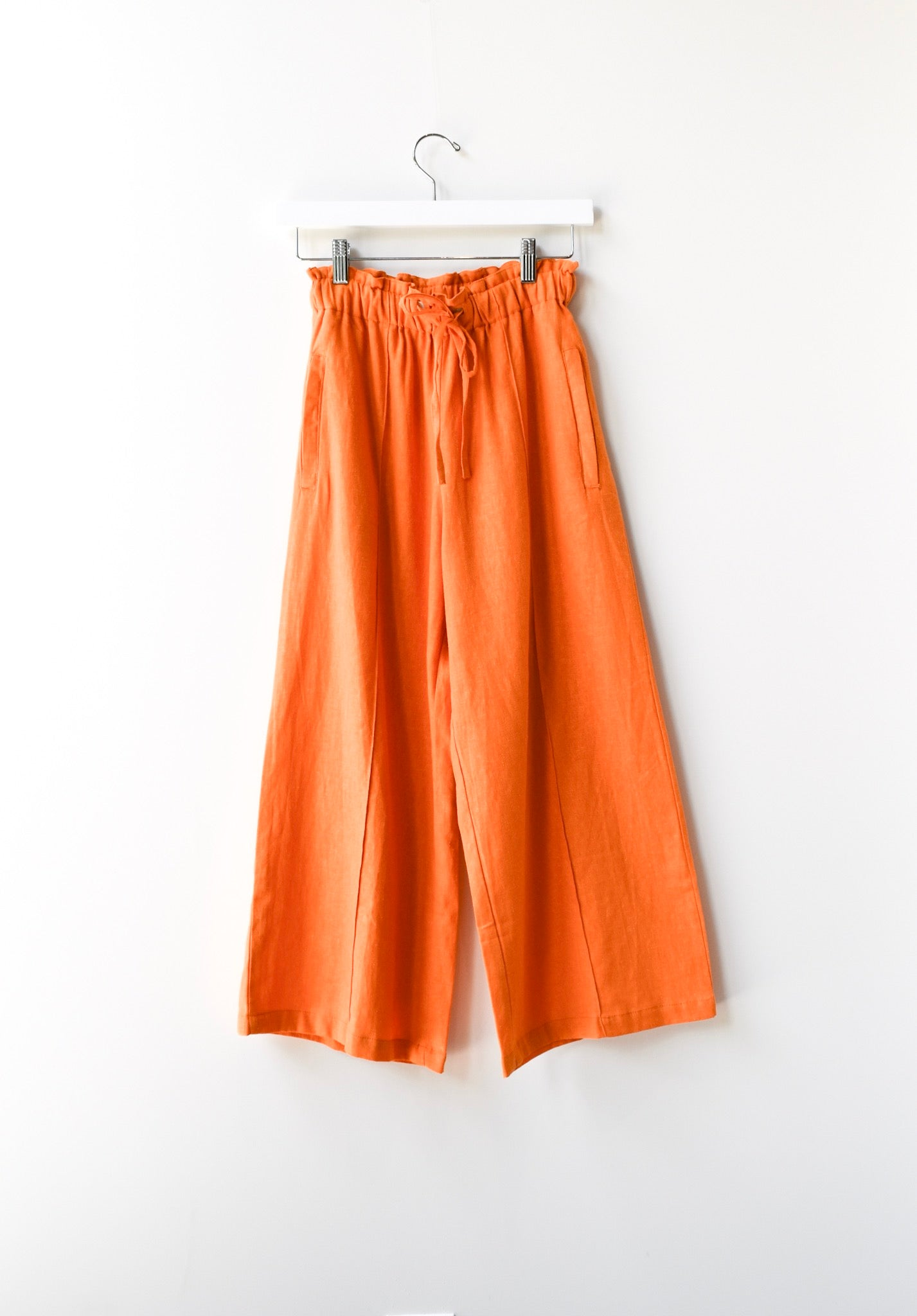 Draw String Wide Pants
