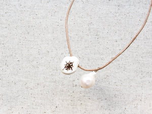 Little Star & Moon Necklace