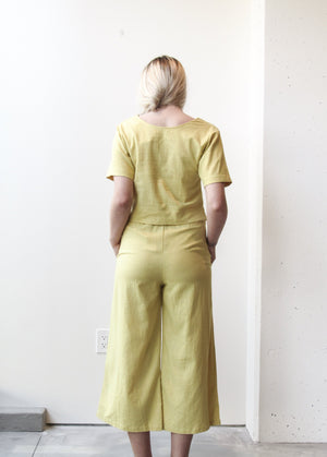 Back V-Top (Linen Rayon)