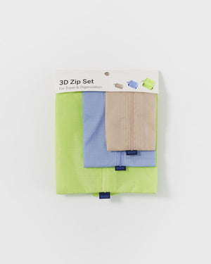 3D Zip Set - Prairie Solids