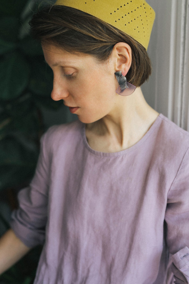 Deva Lilac Earrings