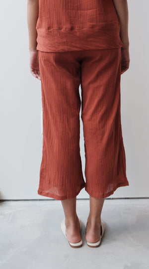 Crinkle Drawstring Pants