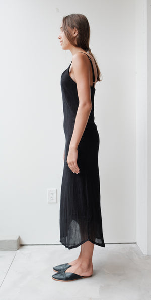 Crinkle Slip Dress