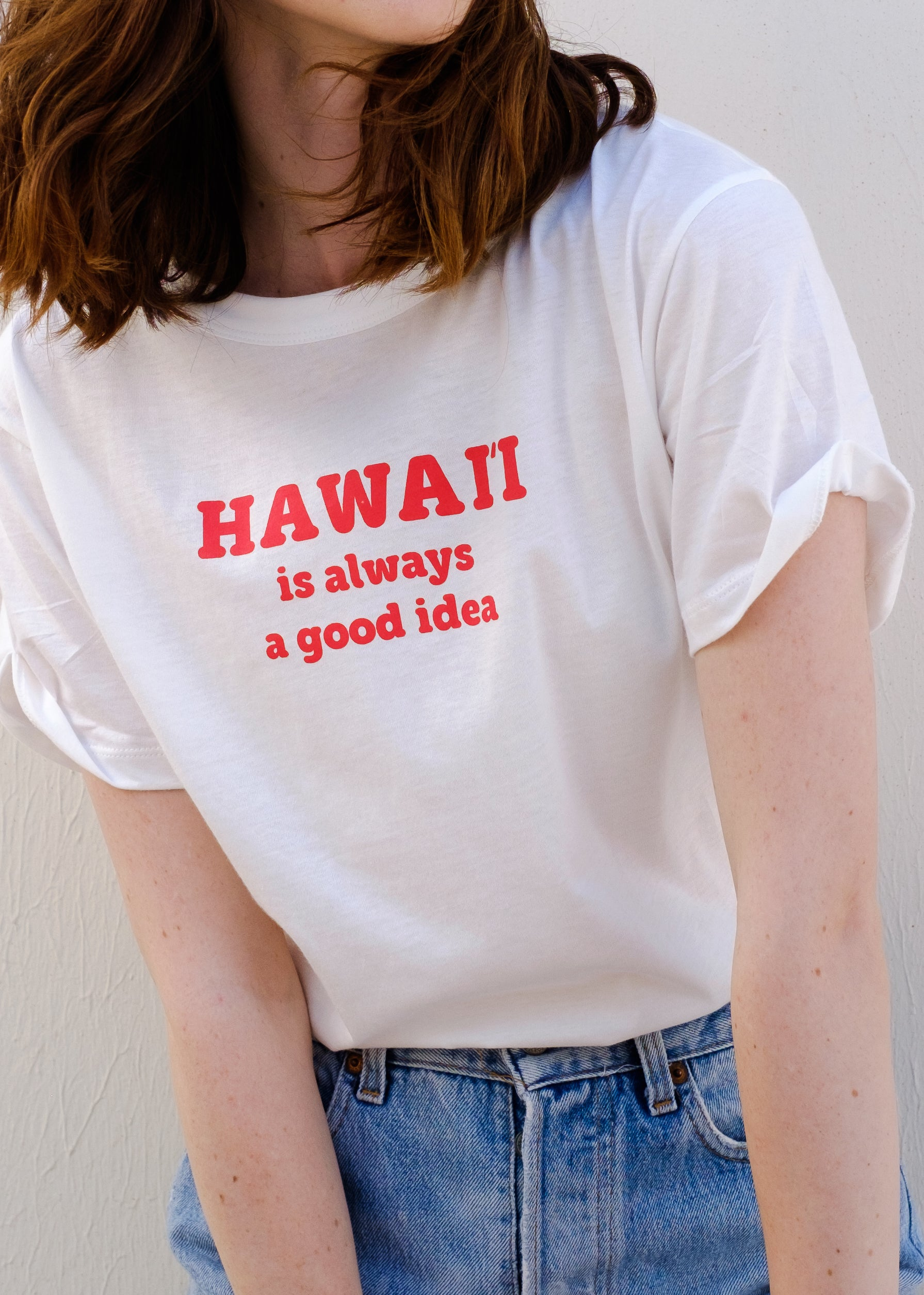 Women's HI is a good idea Tee