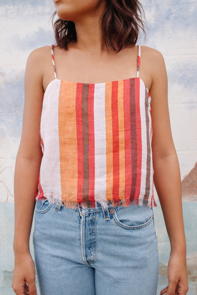 Stripe Square Neck Camisole