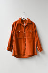 Sample Oversize Jacket - Cinnamon