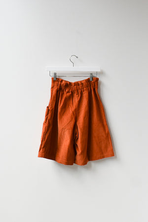 Sample Corduroy Culottes - Cinnamon