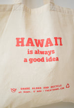 """Hawaii"" Cotton Tote"