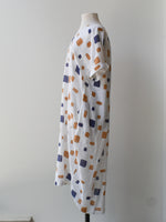Relax Long Dress - Block Print