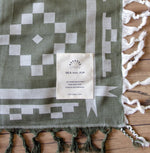 Organic Cotton Jacquard Throw
