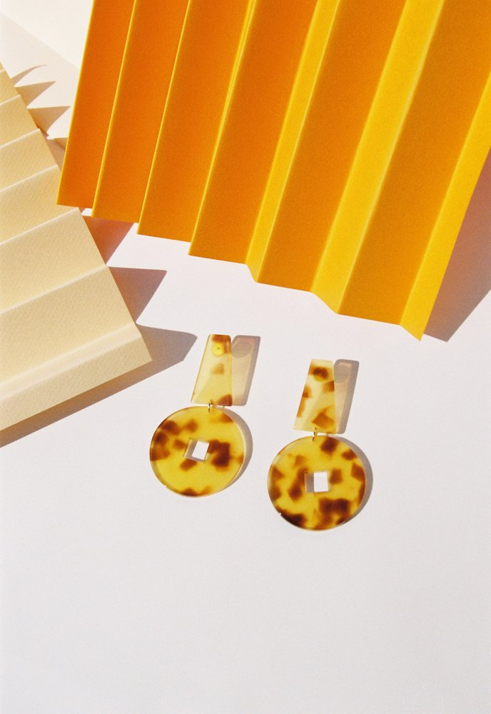 Derviche Earrings - Honey