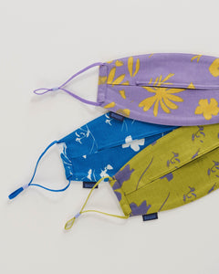 Fabric Mask Set Loop - Floral Sun Prints