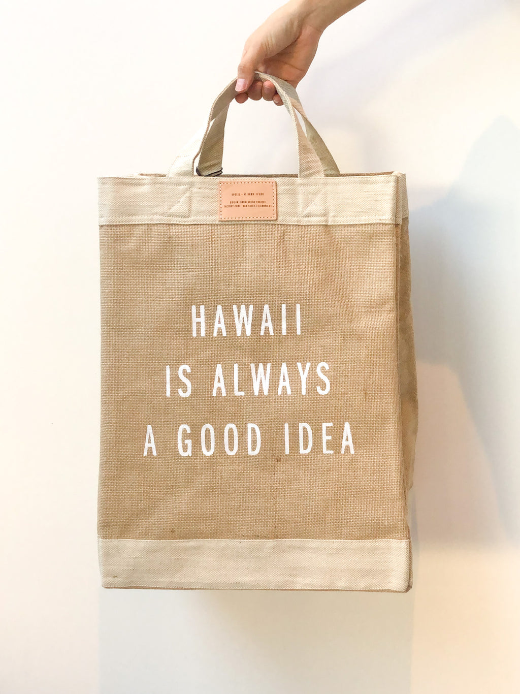 Hawaii Simple Tote by Apolis