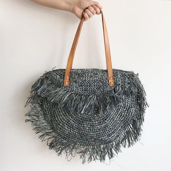 St. Tropez Tote [Charcoal]