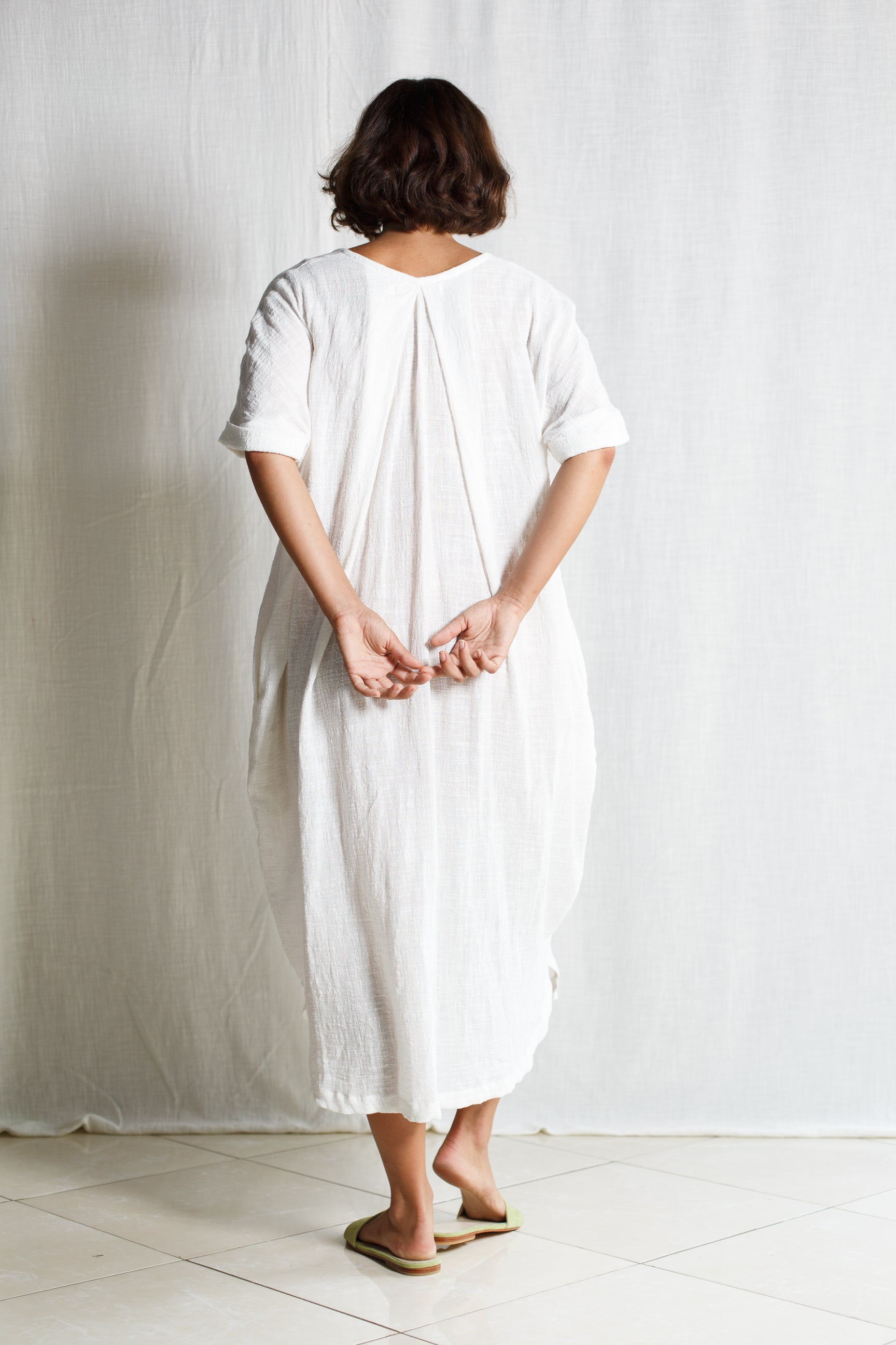 Cotton Long Dress