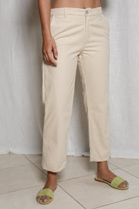 Chino Cropped Pants
