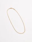 Mariner Link Necklace in Gold