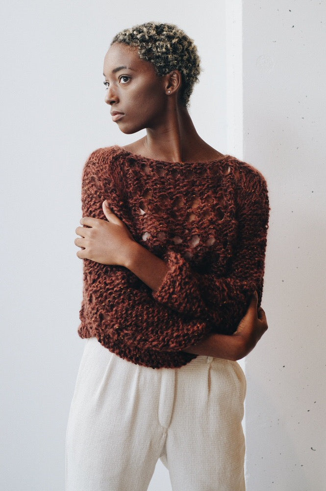 Maiami Tweed Sweater