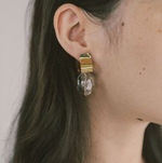 Ash Clear Earrings