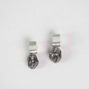 Ash Smoke Earrings