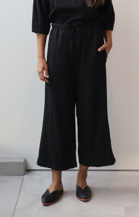 Drawstring Wide Pants