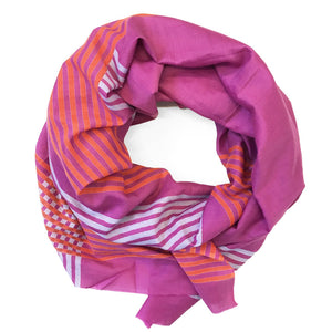 Block Shop | Scarf - Gemini Fuschia
