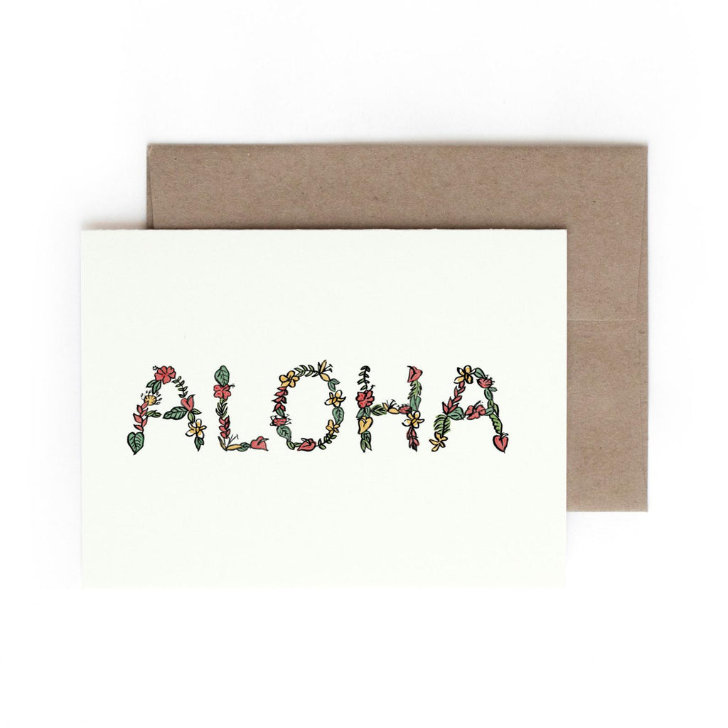 Aloha Card Box Set (Set of 5)