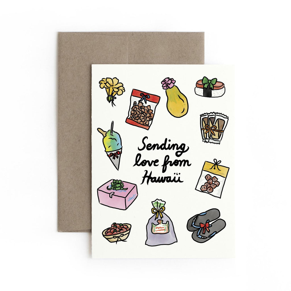 Sending Love from HI Card Box Set (Set of 5)