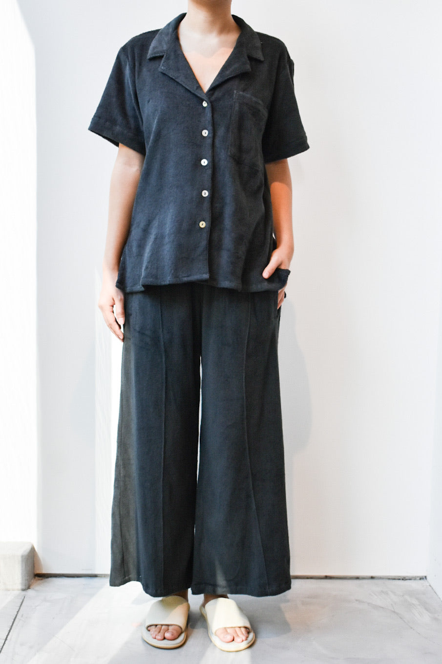 Towel Wide Pants