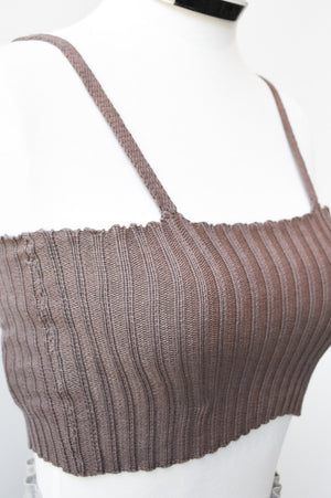 Soft Ribbed Bralette