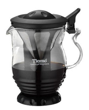 Set de café dripper (malla de acero inoxidable) Tiamo