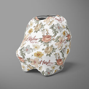 Car Seat Cover / Multi Use Cover - the Harlow collection