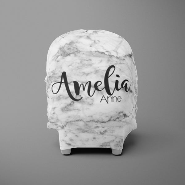 Car Seat Cover / Multi Use Cover - Marble